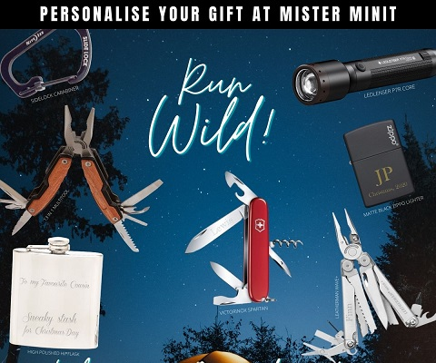 Personalise your gift with engraving at Mister Minit